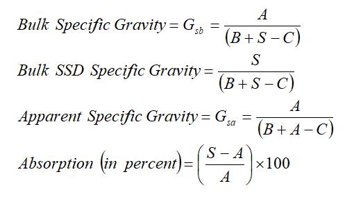 Fine Aggregate equation
